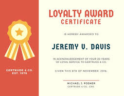 award certificate templates canva