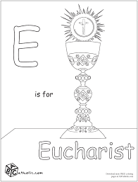 catholic coloring pages free downloads eucharist