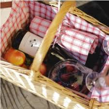 Picnic Gift Basket Picnic Time Piccadilly 16 Inch Double Lid Picnic Basket With