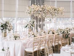 Wedding Table Centerpiece Ideas Excellent Main Table Wedding Decorations 27 With Additional