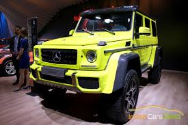 mercedes pickup truck 6x6 mercedes benz g class squared showcased at the auto expo indian