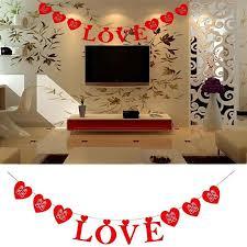 chambre pour amants 3 m amant bannière bunting amour guirlande pour le