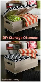 Diy Storage Ottoman Coffee Table Free Diy Plans Rolling Storage Ottoman So Cute And Easy