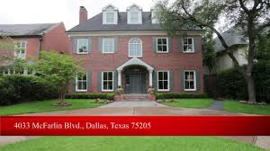 4033 mcfarlin blvd dallas texas 75205 margie harris on vimeo