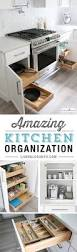 Kitchen Cabinet Organizer Ideas by Best 20 Kitchen Cabinet Organization Ideas On Pinterest Kitchen