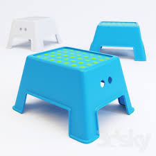 Ikea Stepping Stool 3d Models Other Ikea Bolmen Step Stool