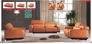 Real Leather Sofa Sets by Esf 2766 Genuine Italian Leather Sofa Set Usa Furniture Warehouse