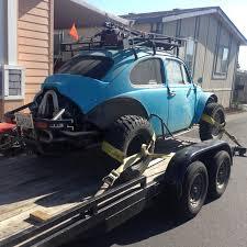 baja car thesamba com gallery 1967 baja bug and car trailer stolen