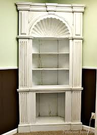 white antiqued cabinet how to antique painted furniture