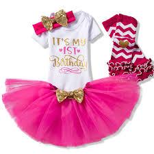 baby girl birthday aliexpress buy baby girl birthday clothing cotton girl 1st