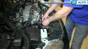 how to install remove replace radiator 1992 00 honda civic youtube