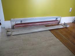 diy baseboard heating update merrypad