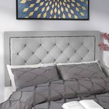 willa arlo interiors felicienne upholstered panel headboard with