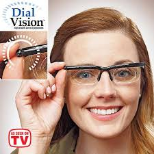 magnifying eyeglasses with light as seen on tv as seen on tv dial vision adjustable vision eyeglasses walmart com