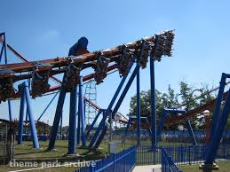 Six Flags Over Georgia Superman Ultimate Flight Theme Park Archive Superman Ultimate Flight At Six Flags Great