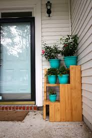plant stand corner planter stand outdoorcorner outdoorme design