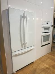 White Kitchen White Appliances by Simple Kitchen Appliance Trends On Small Home Remodel Ideas With