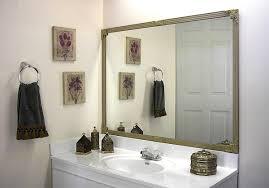 mirredge diy mirror framing kit up to 75 in x 36 in regal
