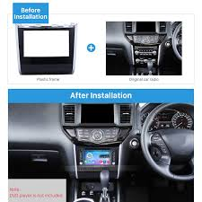 nissan pathfinder dvd player double din car radio frame plastic fascia dash panel for for 2013