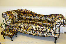 Leopard Print Chaise Animal Print Chaises Longues Ebay