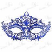 blue masquerade masks purple masquerade mask ebay