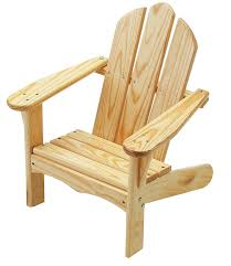 What Are Adirondack Chairs Amazon Com Little Colorado Child U0027s Adirondack Chair Unfinished