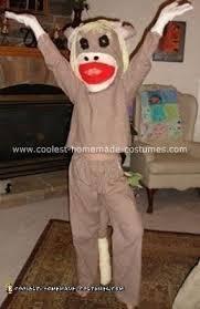 sock monkey costume coolest sock monkey costumes