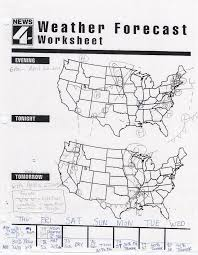 weather map worksheets worksheets