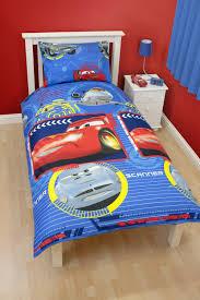 amazon com disney cars spy finn lightning mcqueen single bed