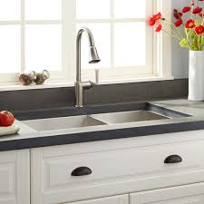 wall mounted ss sink stainless steel wall mount sink signature hardware