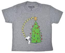 snoopy christmas shirts snoopy christmas tree boys t shirt kidsntoddler