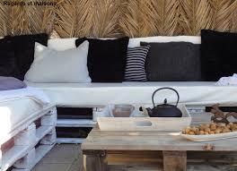 canapé avec palette version automne hiver pour canapé en palettes regards et maisons