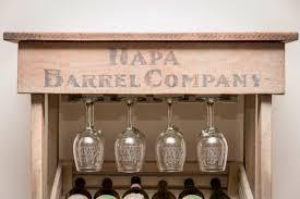 cabinet wine rack cabinets napa vineyard crate wine rack and