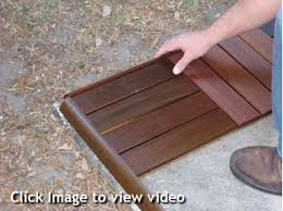Diy Decks And Patios How To Order And Install Patio Deck Tiles