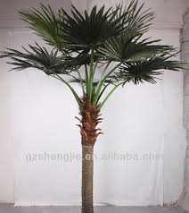 artificial palm tree leaves large outdoor artificial trees sj