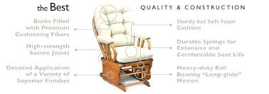 rocking chair and ottoman set medium size of reclining glider