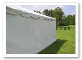 tent rental accessories metro detroit michigan wedding tent