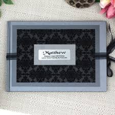 black guest book 80th birthday guest books signature bears signature frames