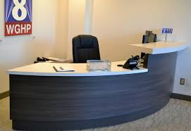 Circular Office Desk Unique Reception Desks Unique Reception Stations Unique Concepts