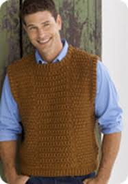 trendy crochet sweater vest pattern free guyu0027s vest menu0027s