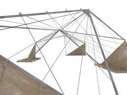 desireé s edge triangular trellis for center of democracy