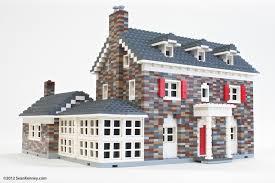 brick and stone houses joy studio design gallery best sean kenney art with lego bricks old stone house