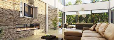 long narrow living room with fireplace in center innovative gas fireplace heaters escea australia