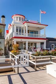 Front Porch Flag Pole Nautical California Coastal Custom Home Beach House White