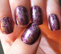 cool one color acrylic nail designs acrylic nail designs