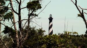 a scenic view of the cape hatteras lighthouse of carolina
