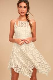 honey clothing free just like honey dress beige crochet lace dress