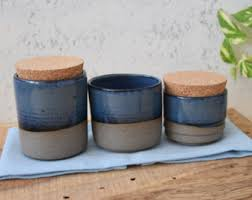 pottery container etsy