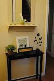 entry way table decor small foyer decorating ideas wintry way table ideas small with