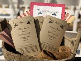 country wedding programs non traditional los olivos wine country wedding inspired by this